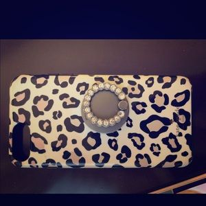 Kate spade iPhone cover and bling Nordstrom ring